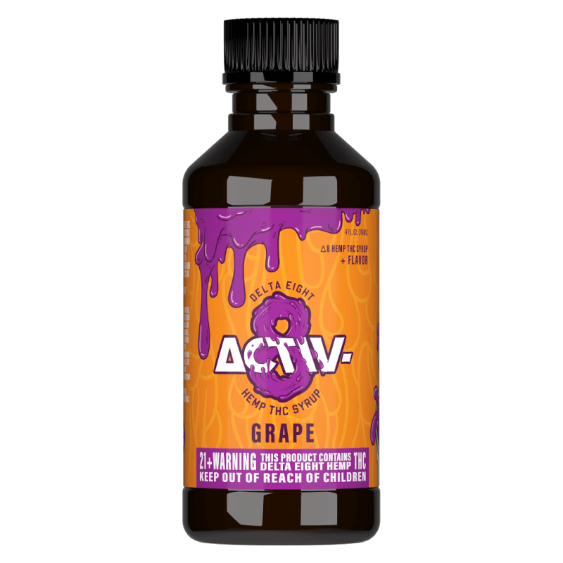 Activ8 Grape Syrup