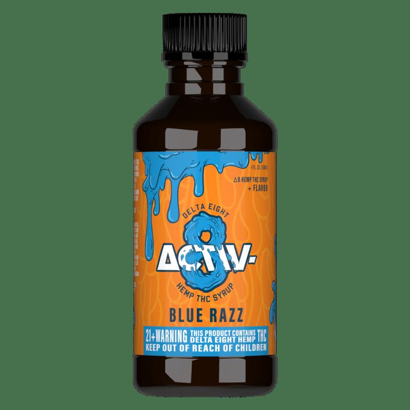 Activ8 Blue Razz Syrup