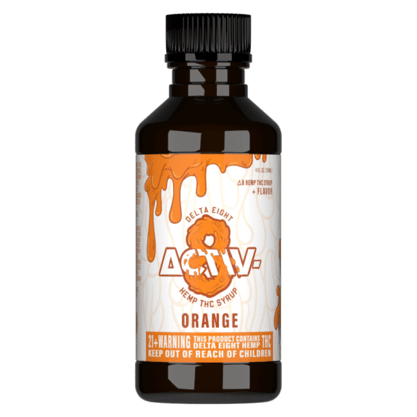Activ8 Orange Syrup